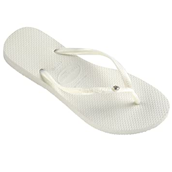 88f55760cd384 Image Unavailable. Image not available for. Color  Havaianas Womens Slim  Crystal Glamour SW ...