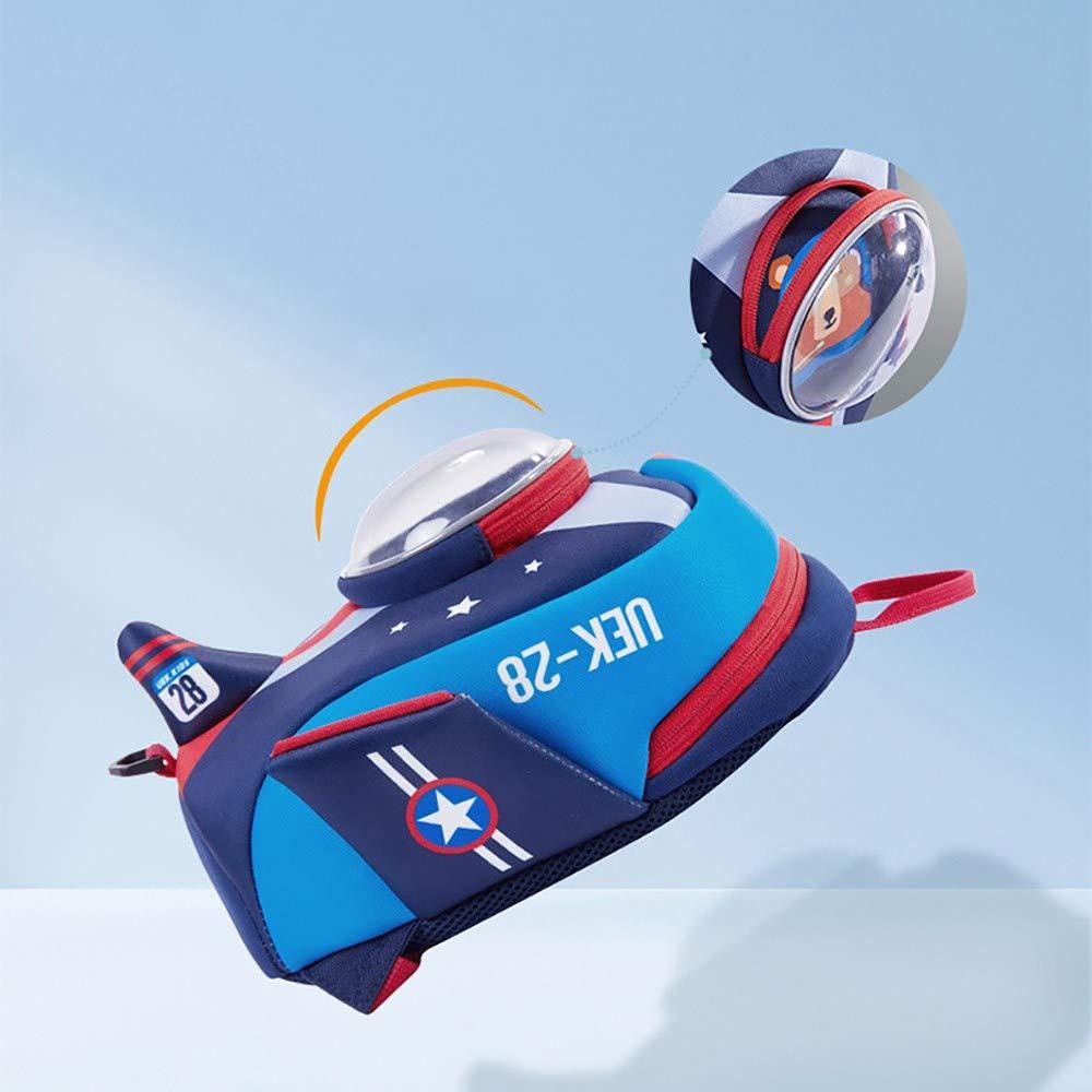 Sunta Bolsa para la Escuela 1-6 años Bandolera Aviones Aviones Aviones de Edad del bebé Infantil Anti-perdida,Azul 753f2a