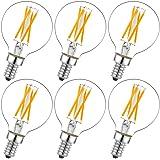 Dimmable g16.5 led Bulb e12 g16 1/2 led Candelabra Bulb 40w led Edison Bulb 2700K 400lm ac120v 4w g50 led Globe Bulb for Chan