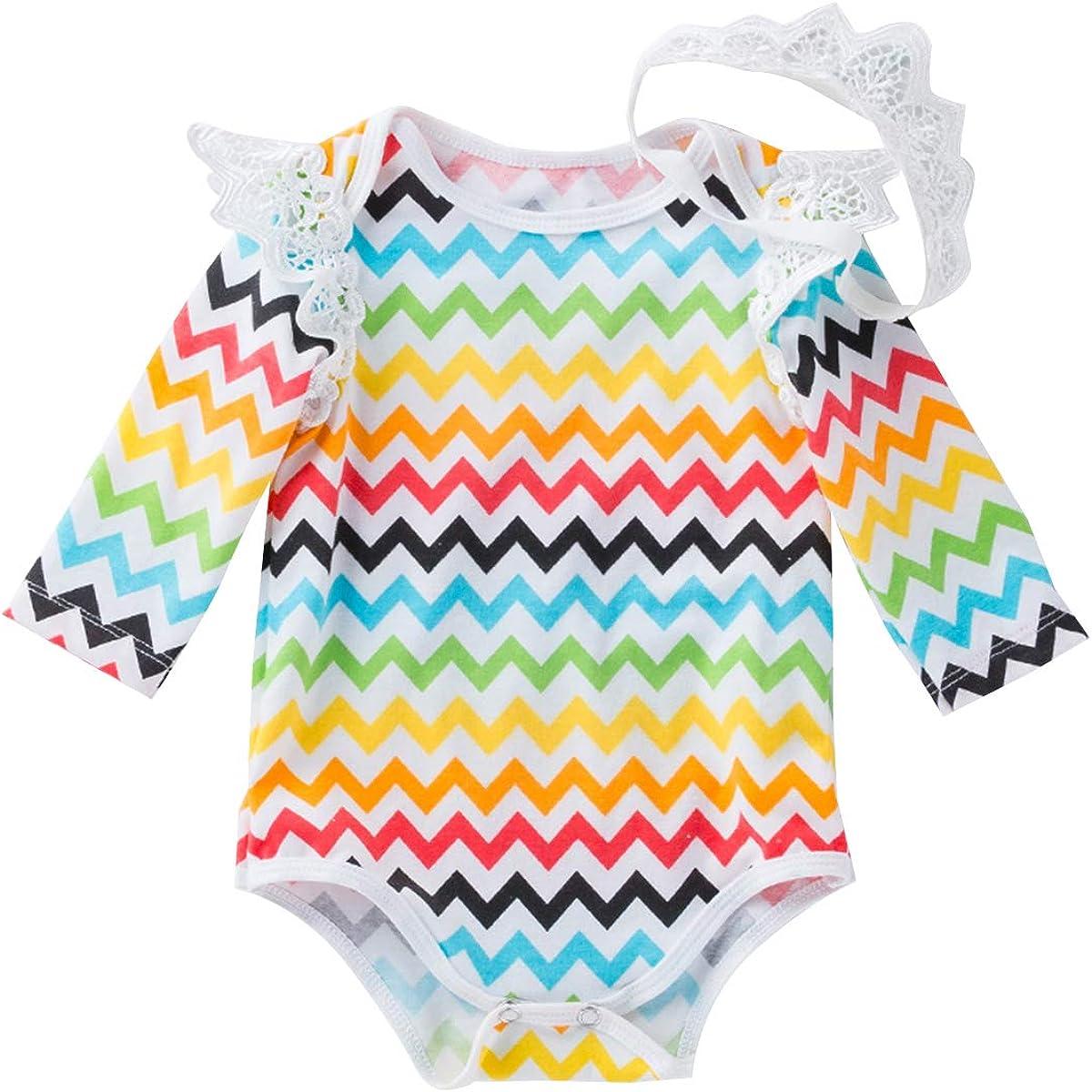 IWEMEK My 1st Easter Outfit Baby Girls 3PCs Romper Tutu Skirt Bunny Eggs Printed Long Sleeve Bodysuit Headband Clothes