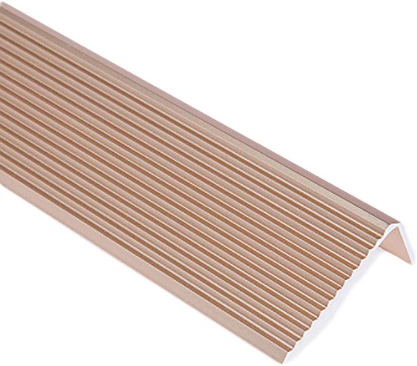 Color : C GWXFHT Building Products L Type Stairs Non-Slip Threshold Strip Aluminum Alloy Decorative Strip Floor Edge Strip Doorway Blanking Strip W45/×H23/×L900MM