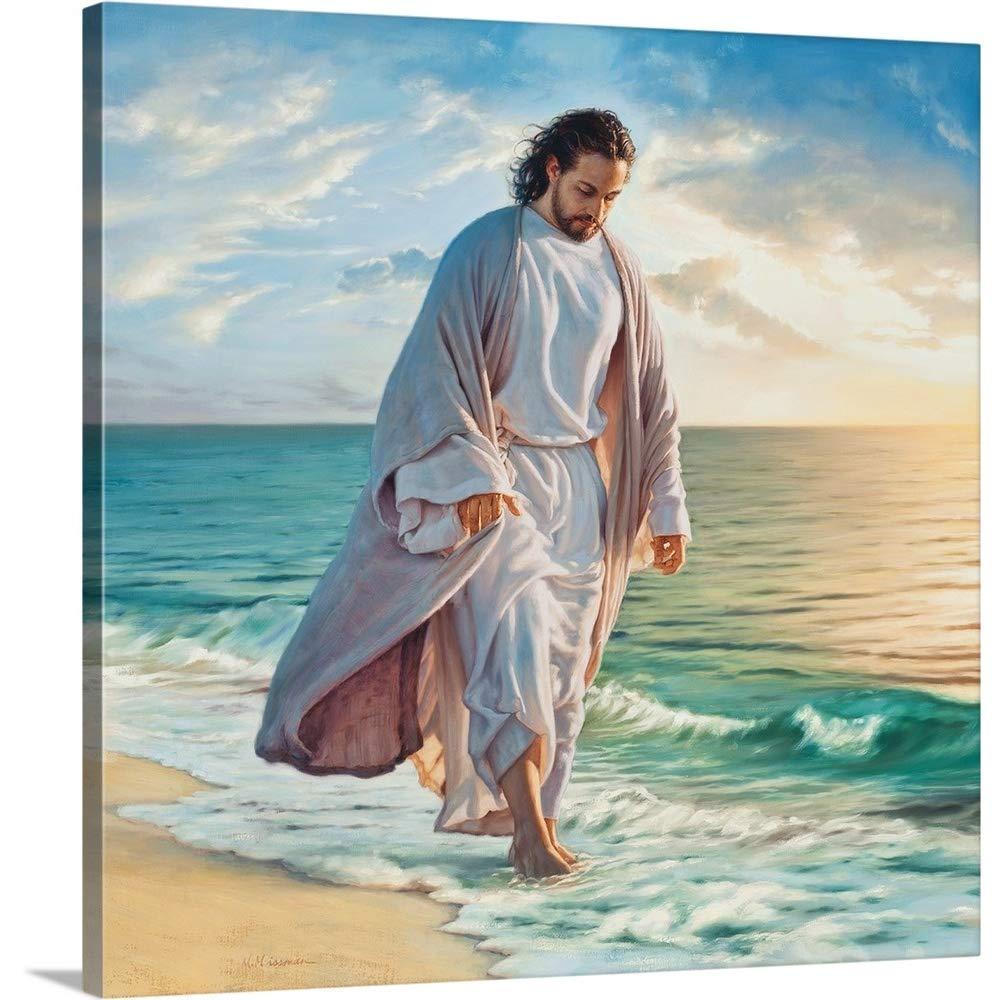 Mark Missman Premium Thick-Wrap Canvas Wall Art Print entitled Be Still My Soul 16''x16''
