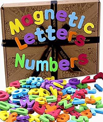 Jaques de Londres. Letras y números magnéticos. Imanes de Nevera ...