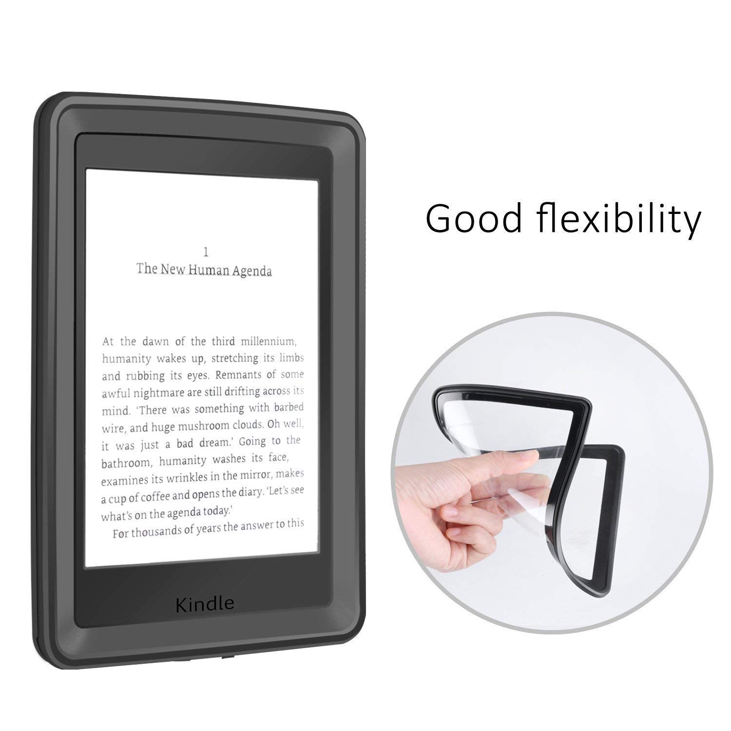 Amazon.com: E-Reader Funda, iThrough Paperwhite Funda ...