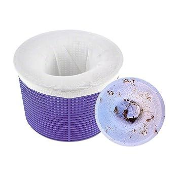 Screen Mesh Socks Prevents Debris From Clogging Pool Filter Skimmer Basket