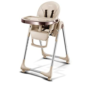 Remarkable Amazon Com Springbuds Foldable High Chair For Toddlers Machost Co Dining Chair Design Ideas Machostcouk