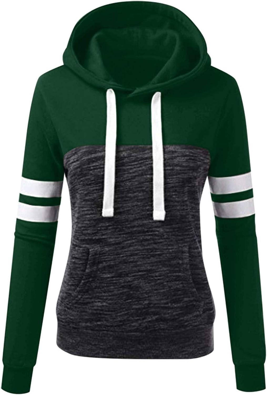 Heavy Damen Sweatshirt Casual Farbstoff binden Kordelzug Hoodie Langarmshirt Pulli Bluse Oberteile Damen Pullover Warm Asymmetrische Long Sleeve Tops Green-7