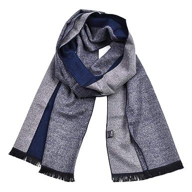 Kakoop - Bufanda de algodón para hombre, diseño de invierno, color ...