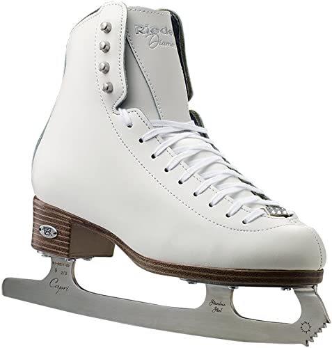 Riedell 133 Diamond Women s and Men s Figure Ice Skates Color White