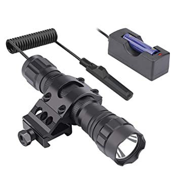 Fyland Tactical flashlight, 1200 Lumens