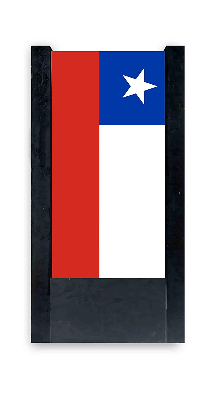 lámpara de mesa negra bandera Chile: Amazon.es: Iluminación