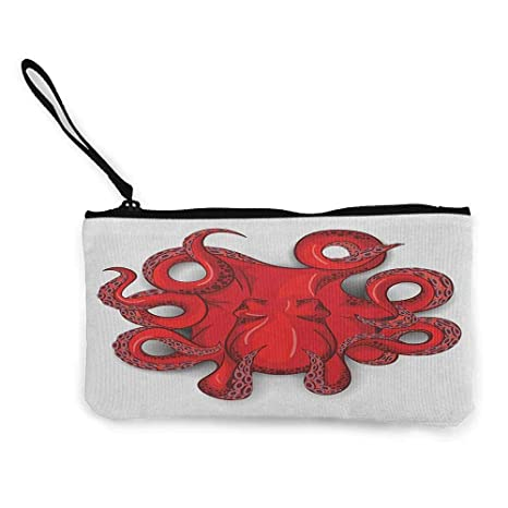 vendite calde cb908 7ab67 TTmom Portamonete da Donna,Portafoglio,Octopus Kraken ...