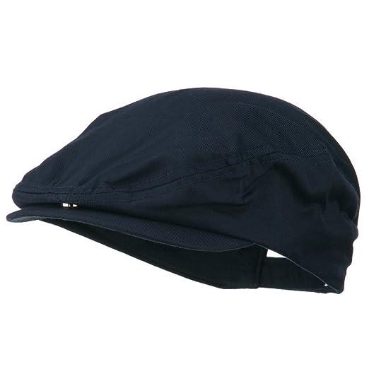 19afa581 Cotton Twill Ivy Cap - Navy OSFM at Amazon Men's Clothing store: