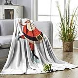 YOYI Comfortable blanketclau skat d Cartoon