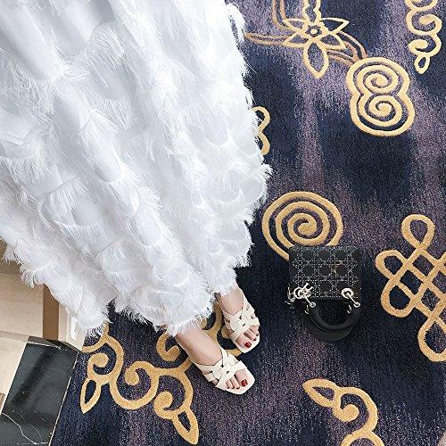 dimensioni colori Sandals Jelly disponibile Marrone EU36 tacco CAICOLOR 5 3 Colore disponibili medio color Beige CN35 con taglia Sandali Slipper UK3 wqz1FBzZ
