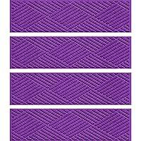 Bungalow Flooring Stair Tread Mats Diamonds Purple