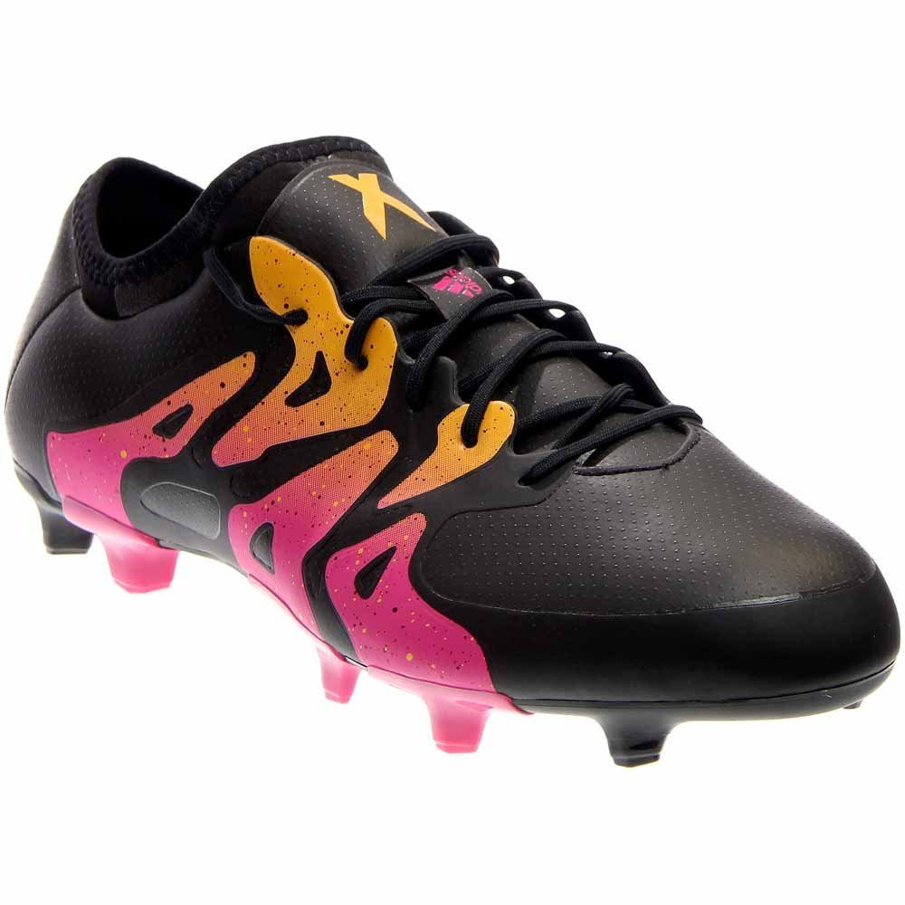 adidas Mens X 15.1 FG/AG Athletic Performance Cleats B018GODJ18 9 D(M) US|Black