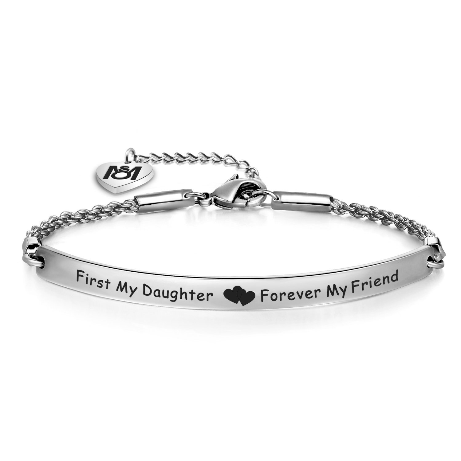 Mother Daughter Bracelet First My Mother/Daughter Forever My Friend Bracelet Mom and Me Jewelry