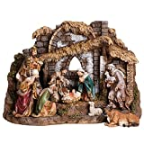 Joseph Studio 10 Piece Colored Christmas Nativity