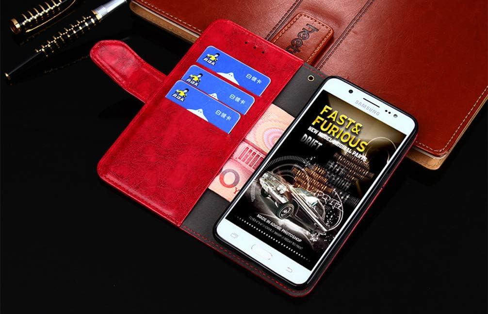 Karomenic PU Leder H/ülle kompatibel mit Samsung Galaxy A20//A30 Einfache Geometrie Handyh/ülle Brieftasche M/ädchen M/änner Schutzh/ülle Klapph/ülle Magnet Ledertasche Wallet Flip Case Etui,Rot