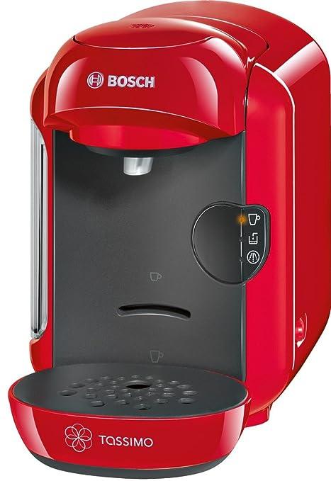 Bosch TAS1203 Independiente Totalmente automática Máquina de café en cápsulas 0.7L 1tazas Rojo - Cafetera (Independiente, Máquina de café en cápsulas, ...