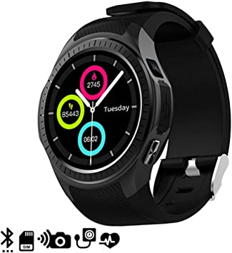 DAM TEKKIWEAR. DMX118BK. Smartwatch Bluetooth L1 para iOS Y ...
