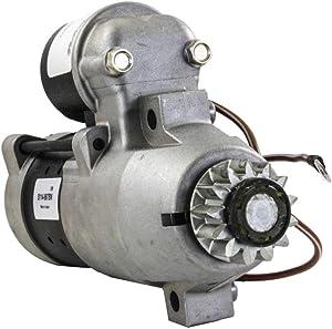 Rareelectrical NEW HITACHI TYPE STARTER MOTOR COMPATIBLE WITH YAMAHA F150TLR F150TXR 2004 2005 2006 2007 2008 S114-867 S114-867A S114-867B S114867A