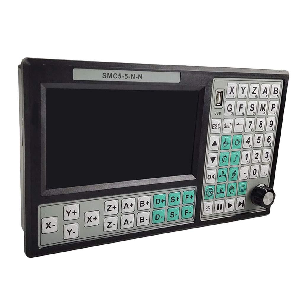 D DOLITY 5軸オフライン CNC制御コントローラー セット モーション コントロール システム 24V SMC5-5-N-N