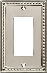 Franklin Brass W35060-SN-C Wall Switch Plate, Single, Satin Nickel