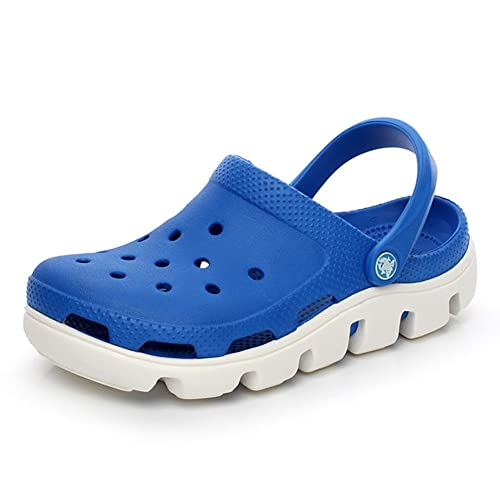 3056f3c52f64a VWU Unisex Men Ladies Women Summer Outdoor Breathable Mesh Backless Shoes  Beach Aqua Garden Clogs Strap