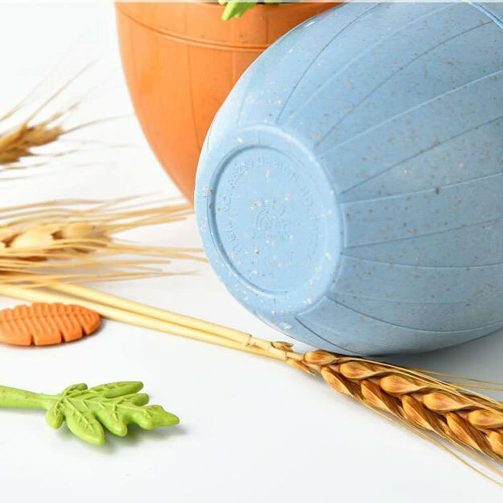 OUNONA 17 tenedores de frutas para c/ócteles piquillos de postre y magdalenas con soporte color azul