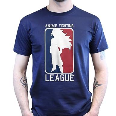 Anime Fighting League Saiyan Dragon Ball Z T-shirt, Größe:3XL;Farbe