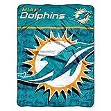 "NFL Miami Dolphins ""Livin Large"" Micro Raschel"