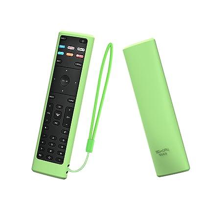 SIKAI Remote Case Compatible with Vizio XRT136 Smart TV Remote  Skin-Friendly Shockproof Silicone Cover for Vizio XRT136 Remote Washable  Anti-Lost with