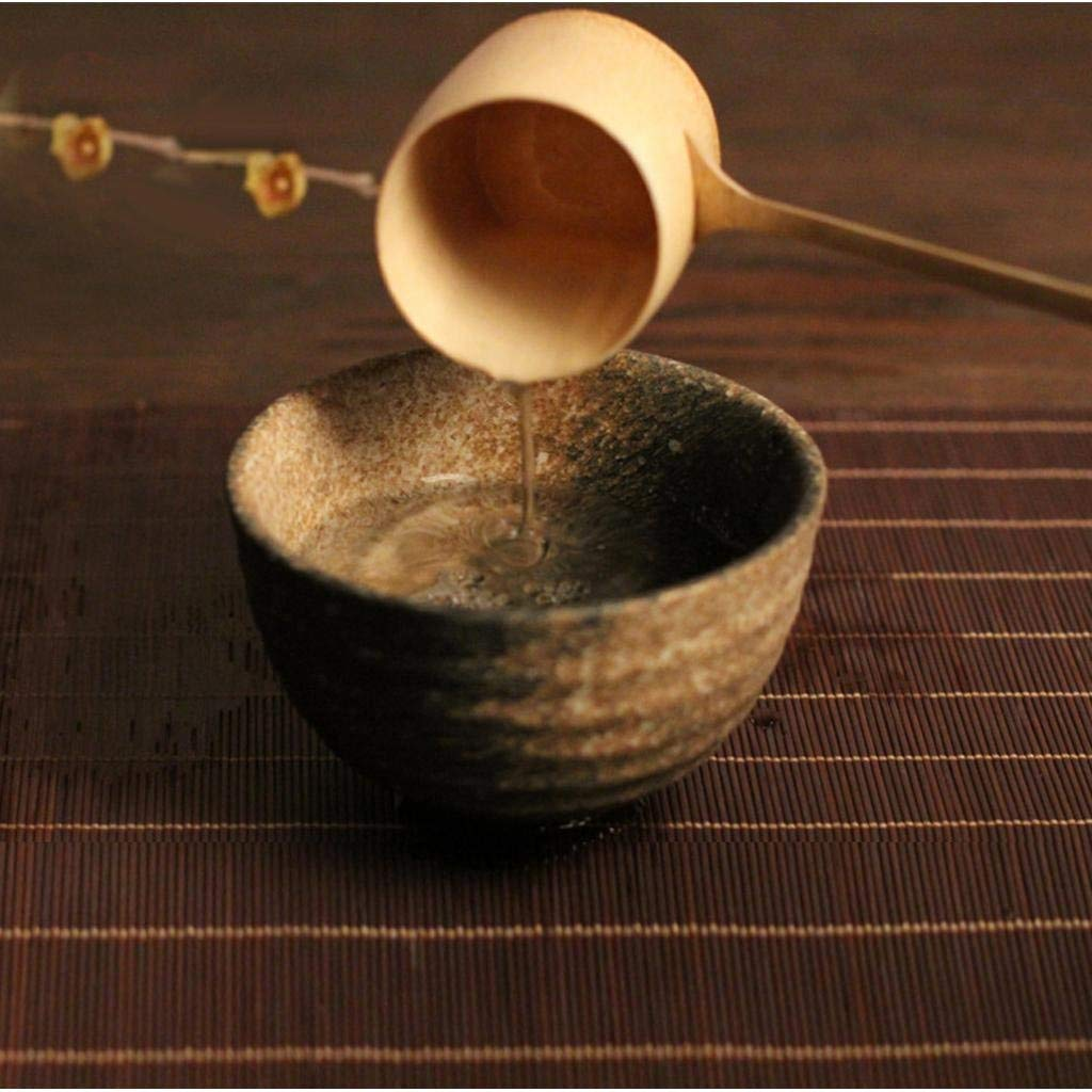 Tubayia bamb/ú japon/és t/é/ Large /Cuchar/ón Cuchara de Agua con Mango Largo para casa//Sauna Habitaciones