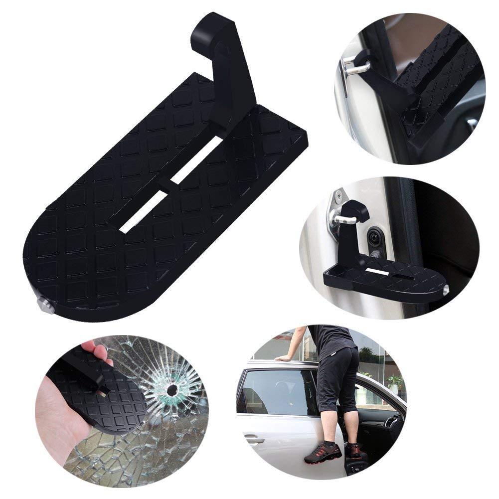 KANGLE Portable Car Roof Doorstep Paso Plegable para Un Acceso Fácil Y Seguro Al Techo del Automóvil para Cargar Equipaje O Lavar El Techo: Amazon.es: Hogar