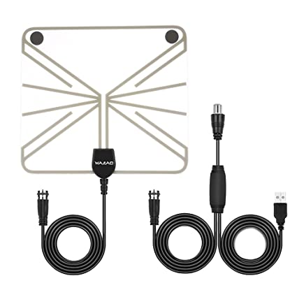 Amazon com : Market&YCY Indoor HDTV Antenna - 50 Miles Digital Long