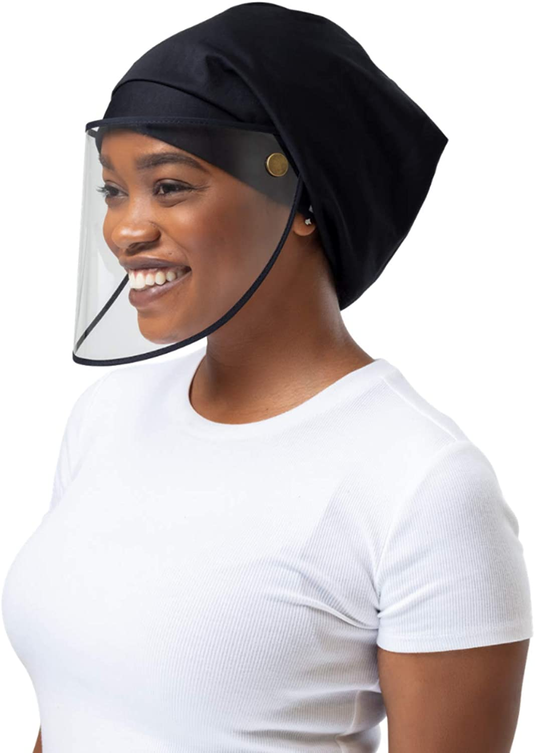 Hairbrella Pro Face Shield Women's Rain Hat, Waterproof, Sun Protection, Satin-Lined, Packable at  Women's Clothing store
