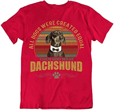 Body Soul-n-Spirit Dachshund - Camiseta de perro salchicha ...