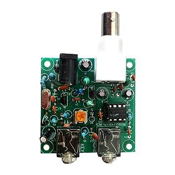 SODIAL(R) 40M CW RADIO Shortwave Transmitter QRP Pixie Kit Receiver  7 023-7 026MHz