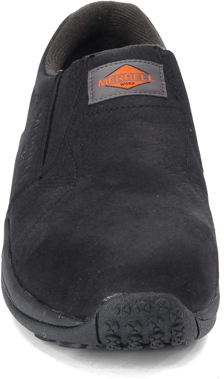 Jungle Moc Static Dissipative Work Shoe Merrell Mens Wide Width Black 9.5 W