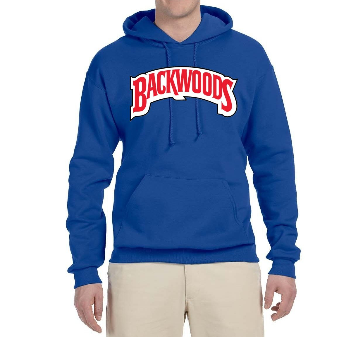 Backwoods Red Logo S Pop Culture Hooded Graphic Shirts