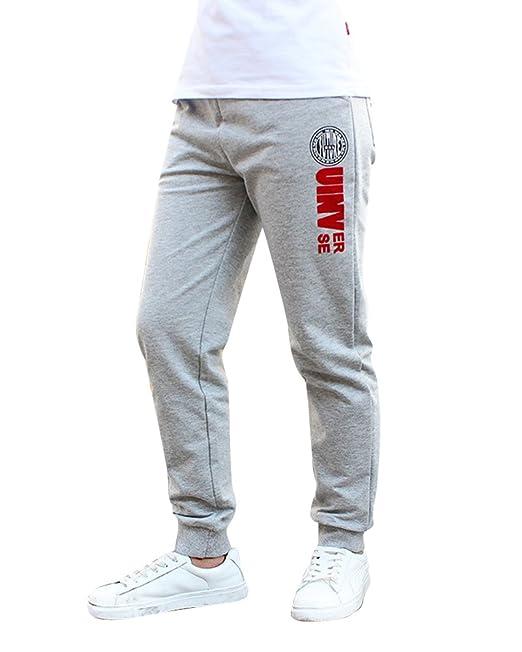DianShao Pantalones De Deporte Niños Estampado Pantalón De Jogging ...