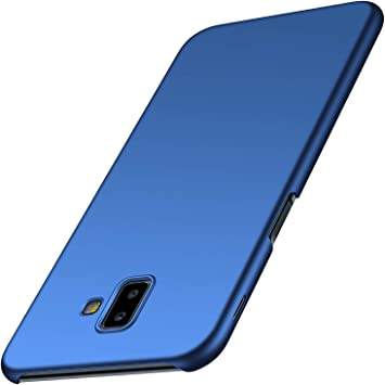 OFU Samsung Galaxy J6 Plus Funda, Frosted Ultra Thin Matte Hard Back Cover Case,PC Case Cover para Samsung Galaxy J6 Plus Smartphone-Azul: Amazon.es: Electrónica