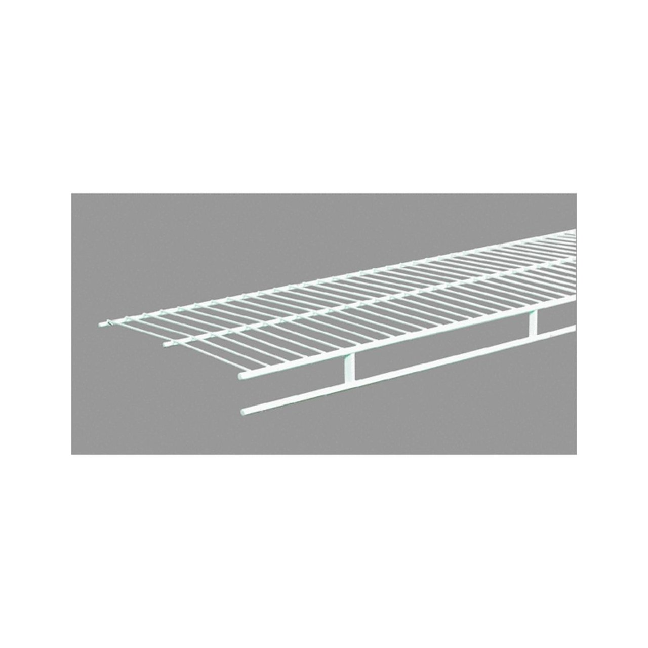Amazon.com: ClosetMaid 1361 Shelf And Rod 6ft. By 12in. Wire Shelf, White:  Home U0026 Kitchen