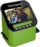 Film Scanner with 22MP High Resolution Slide Scanner Converts 35mm, 110 & 126 and Super 8 Films, Slides and Negatives to…