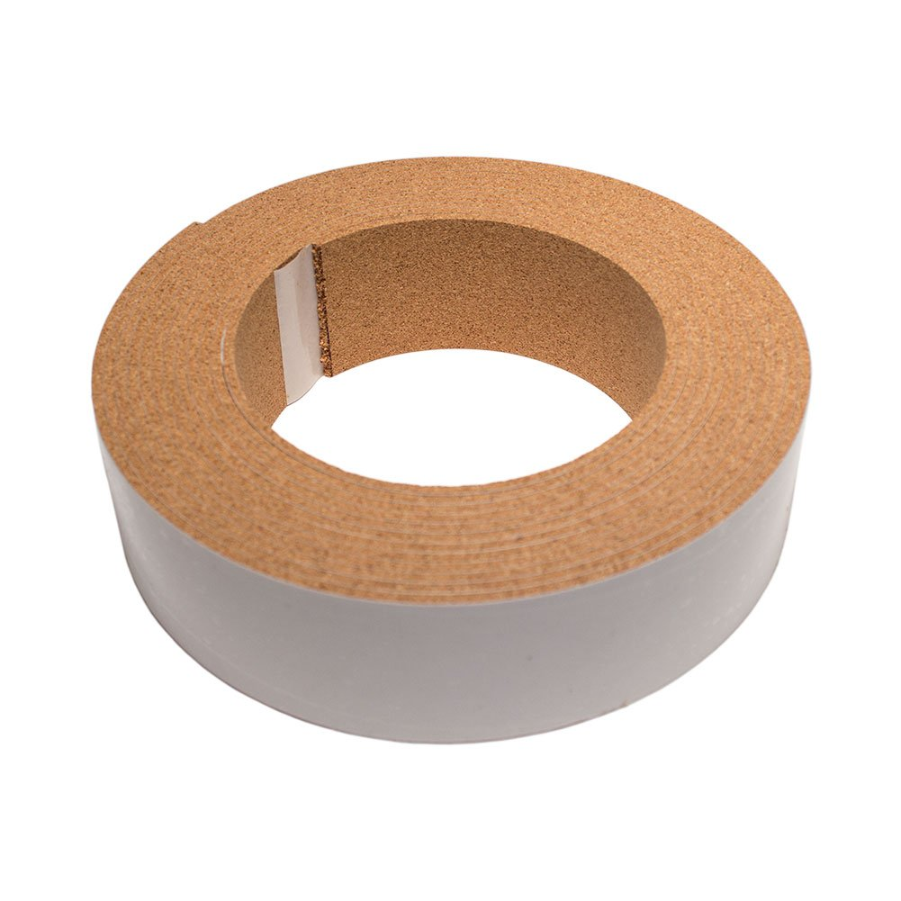 CORK STRIPPING WITH ADHESIVE - 1/8IN THICK X 1IN WIDE X 20FT LONG The Felt Store
