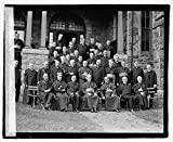 Vintography 8 x 10 Reprinted Old Photo Catholic Priests Group, 9/27/22 1922 National Photo Co 80a