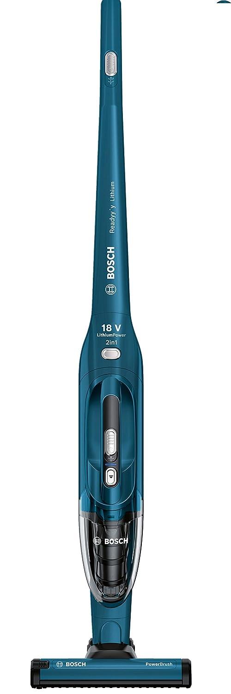 Bosch BBH21830L Scopa elettrica Ricaricabile 2in1, 700 W, 1.25 Unknown_Modifier, Blu Metallizzato