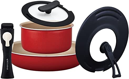 Amazon.com: DOSHISHA Evercook 5 -Piece Set (26Cm Frying